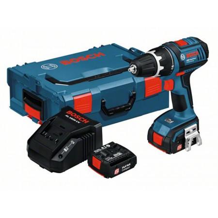Аккум. шуруповерт Bosch GSR 14,4 V-Li (2 ак. 1.3А/ч) в боксе (060186600F)